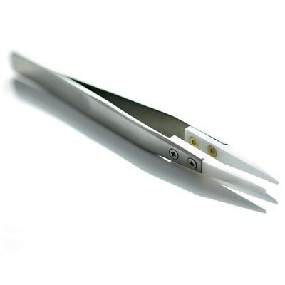 Heat Resistant Ceramic Tweezers Stainless Steel coil tool for RDA RBA Attomizers