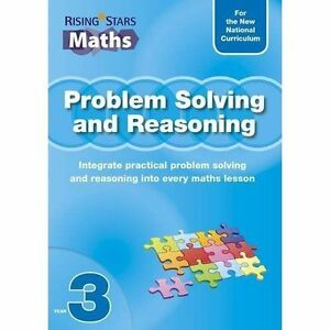 Problem Solving and Reasoning Year 3 (Rising Stars Maths), Tim Handley, New Book