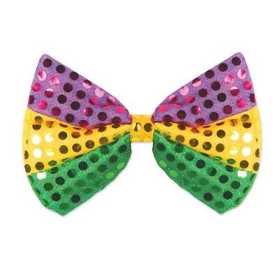 Mardi Gras Glitz N Gleam Bow Tie Mardi Gras Props Hats Party Decorations (Mardi Gras Props)