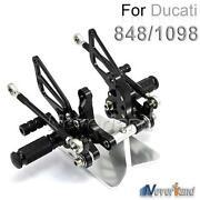 Ducati 848 Rearsets