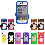 Silicone Rubber Gel Case iPhone 4S