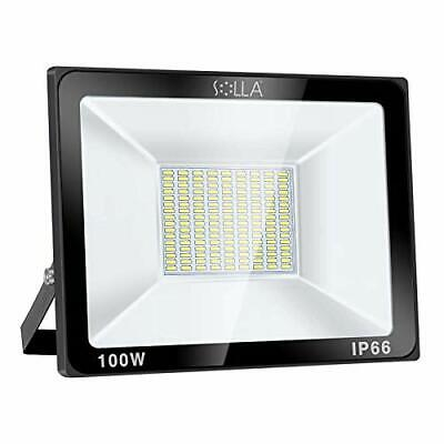 100W LED Floodlight IP66 Waterproof Outdoor Security Light, 8000LM, 6000K