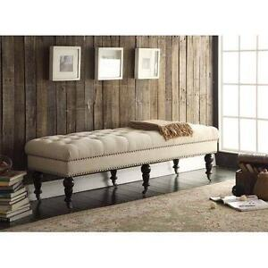 Driffield Upholstered Bedroom Bench by Charlton Home NEW