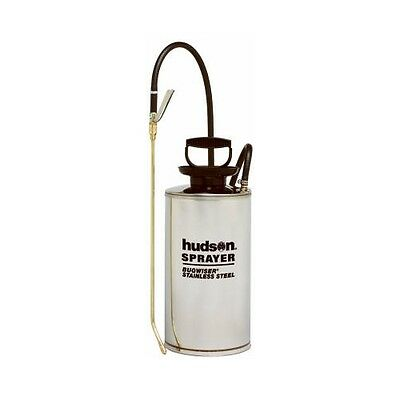 - Hudson 2 Gallon Stainless Steel Bugwiser Professional Tank Pump Sprayer 67220