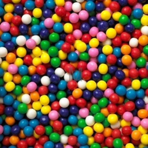 "500 DUBBLE BUBBLE 1/2"" GUMBALLS Bulk Vending Machine Fresh Candy Gum Ball New"