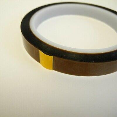 Poliimida Pulido Adhesiva Resistente Al Calor Cinta 20mm (33mtrs) Kapton -