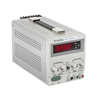 Gw Instek Gps-1830d Dc Power Supply 0-18v 0-3a New Openbox