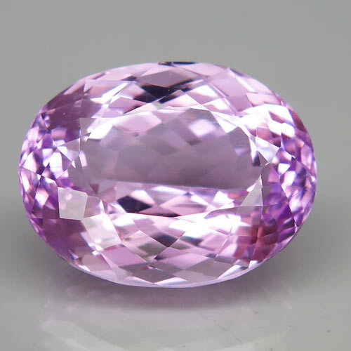 40ct.Glowing Gem! 100%Natural Hot Pink Purple Kunzite Unheated 23x18mm.AAA