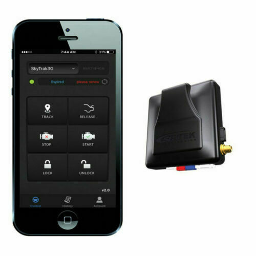 Smart Phone GPS Tracking Mobile Link G3 SCYTEK Car Alarm Remote Start