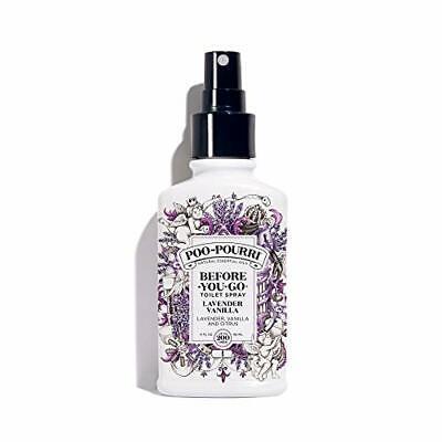 Poo-Pourri Before-You- Go Toilet Spray 4 oz Bottle, Lavender Vanilla