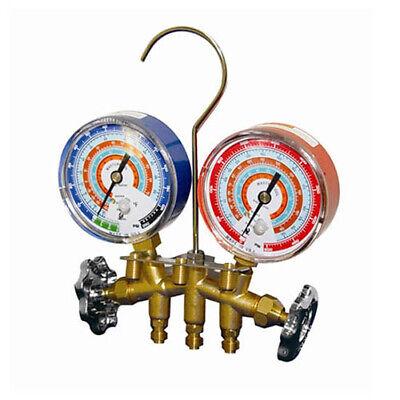 Mastercool 56103 Brass Manifold 3 18 Gauge 14 Mfl