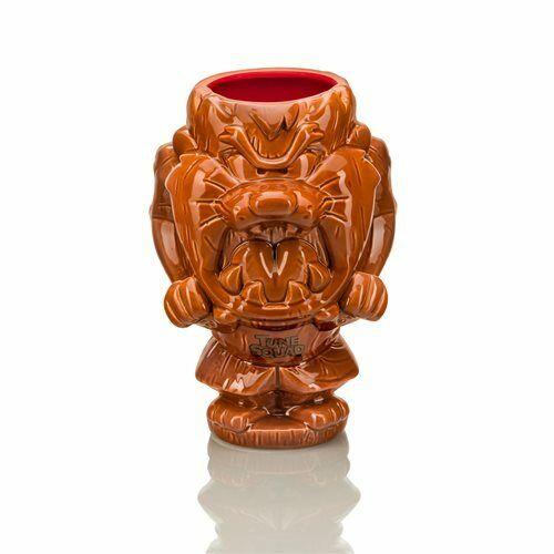 Geeki Tikis Space Jam Tazmanian Devil Ceramic Tiki Style Mug 24 Ounces