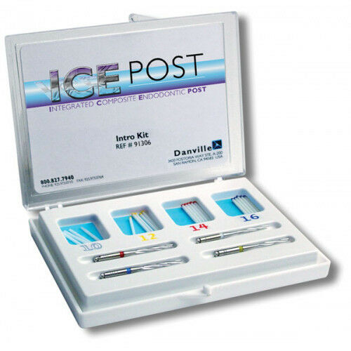 DANVILLE 90079-01 ICE POST INTEGRATED COMPOSITE ENDODONTIC POSTS INTRO KIT