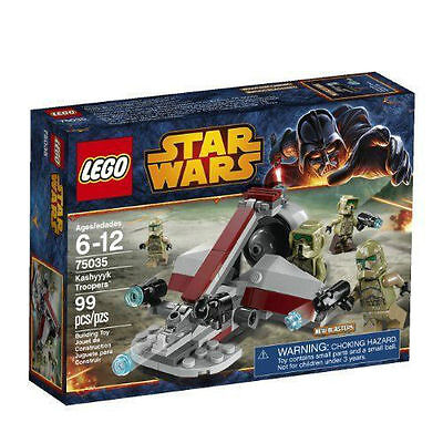 LEGO Star Wars 75035 Kashyyk Troopers NEW