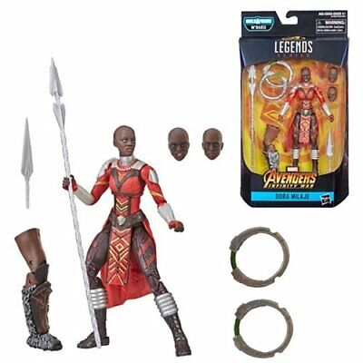 Black Panther Marvel Legends 6-Inch Dora Milaje Action Figure BY HASBRO