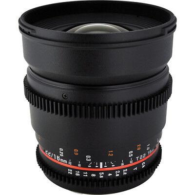 Bower Super Special  Lens 16mm T2.2 Cine Lens for Nikon F Mount BNIB for sale  Sebring