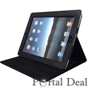 MAGNETIC-LEATHER-SMART-COVER-CASE-FOR-APPLE-IPAD-1-IPAD1-WIFI-3G-W-STAND-BLACK