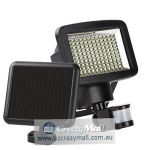 2x 120LED Solar Sensor Light with Motion Detection Melbourne CBD Melbourne City Preview