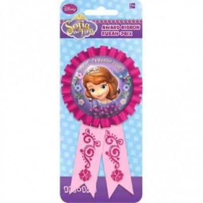 Sofia the First Disney Award Ribbon Best Princess Decoration Favor Party