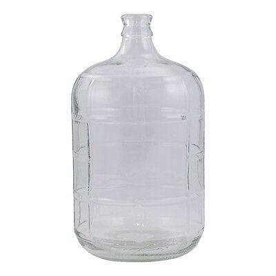 High Quality Italian Made Glass Carboy ~ 3 Gal with #7 Stopper & Premium (Quality Italian)