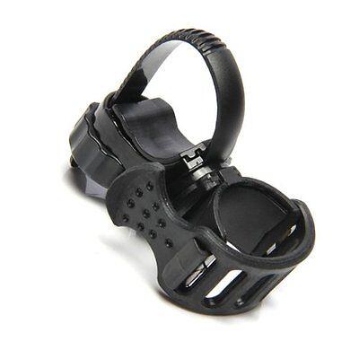 Support Flashlight Lamp Light flashlight holder Color Black Bike Handlebar