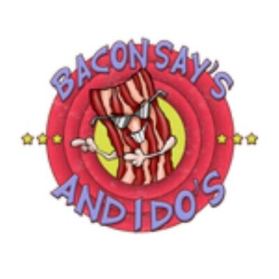 Bacon Says And I Do's Cool Dancing Dude SunGlasses Breakfast Best Food In (Bacon Sunglasses)