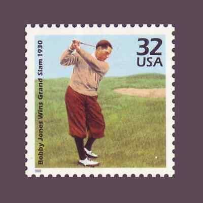 32¢ Bobby Jones Wins Grand Slam 1930 3185n 1930's Celebrate the Century MNH