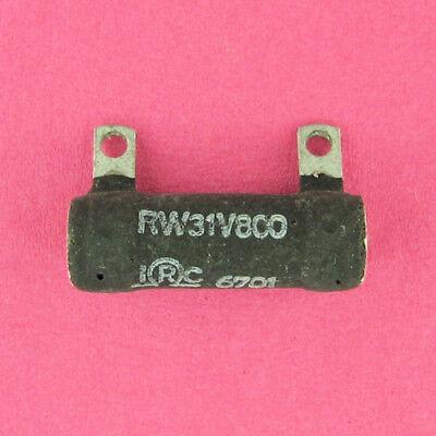 80 Ohm 14 Watt 5 Wire Wound Power Resistor Fixed In Line Replaces 5w 6w 10w 12w