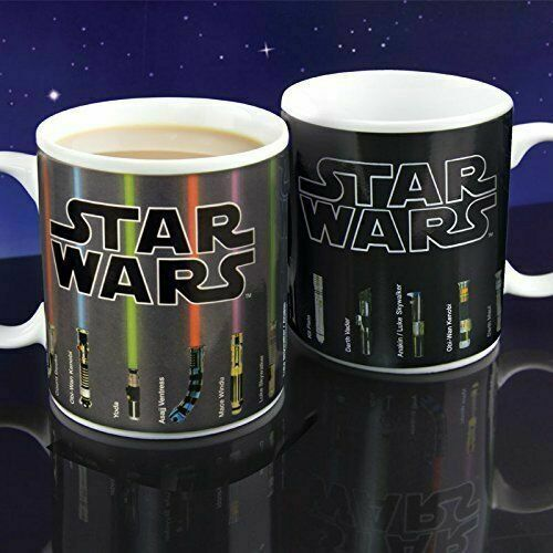 Star Wars Ceramic Mug Lightsaber Heat Sensitive Color Changi