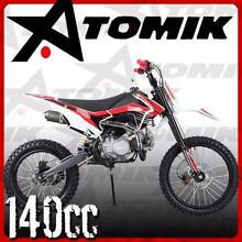 FULLY ASSEMBLED NEW ATOMIK AVENGER 140CC DIRT BIKE MOTOR TRAIL Morningside Brisbane South East Preview