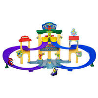 Playskool Sesame Street Come and Race Speedway Set