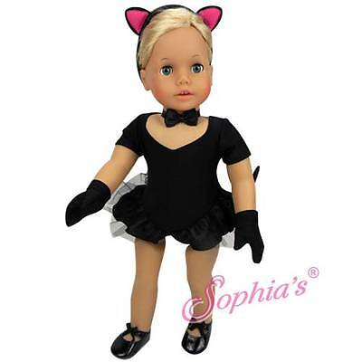 Black Cat Leotard (HALLOWEEN 5 PIECE BLACK CAT Jazz Dance COSTUME 18