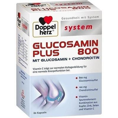 DOPPELHERZ Glucosamin Plus 800 system Kapseln 60St Kapseln PZN 9337936