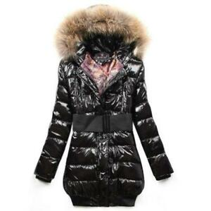 Hooded Fur Coat | eBay