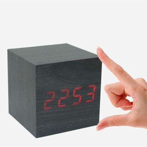 cube alarm clock ebay. Black Bedroom Furniture Sets. Home Design Ideas