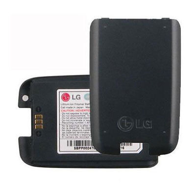 New Original OEM LG AX260 Scoop LX260 Rumor UX260 Battery LGLP-AHFM Black Lot ()