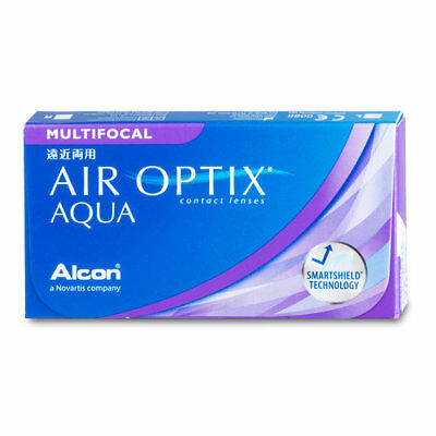 Alcon - Air Optix Aqua Multifocal Kontaktlinsen (1x6 Monatslinsen)