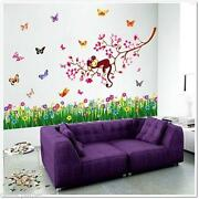 Childrens Flower Wall Stickers