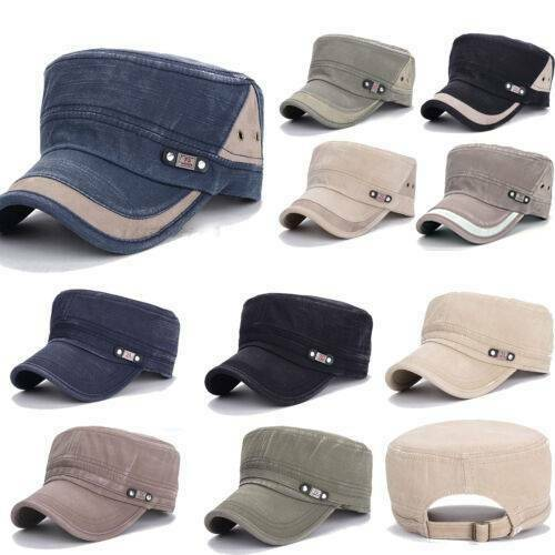 Men Mesh Golf Driving Flat Cap Holiday Travel Breathable Adjustable Casual Hat Clothing, Shoes & Accessories