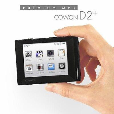 [Cowon] Cowon D2+ D2 PLUS (8 GB) Digital Media Player Premium MP3 Player [BLACK]