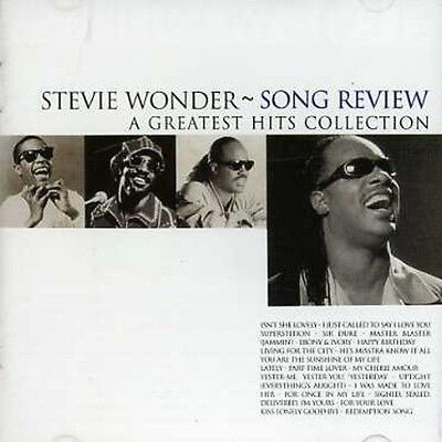 Stevie Wonder   Song Review  Greatest Hits Collection  New Cd