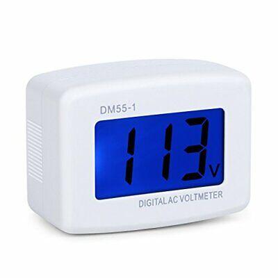 Lcd Digital Voltmeter Voltage Measuring Monitor Power Line Volt Test Monitor