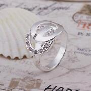 Sterling Silver Crystal Ring