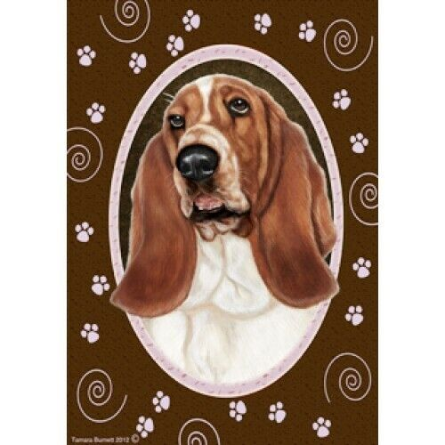 Paws House Flag - Basset Hound 17021