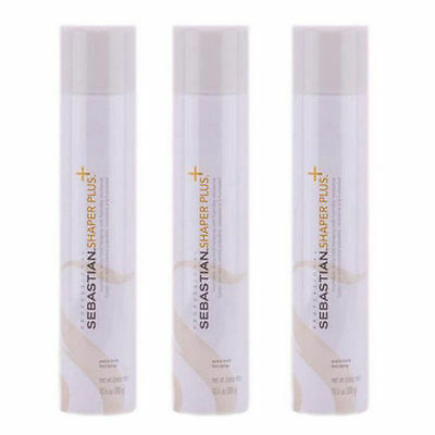 Sebastian Shaper Plus Extra Hold Styling Hairspray 10.6oz  (3 pack)