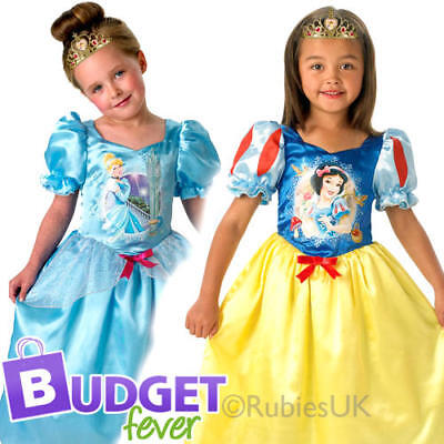 Reversible Cinderella & Snow White Girls Fancy Dress Disney Kids Childs - Reversible Cinderella Kostüm