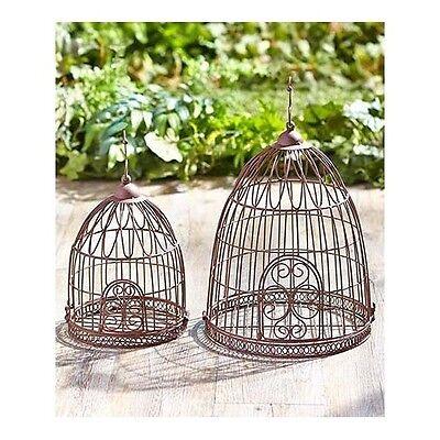 Decorative Bird Cage Metal Large Small Vintage Hanging Garden Planter Wedding