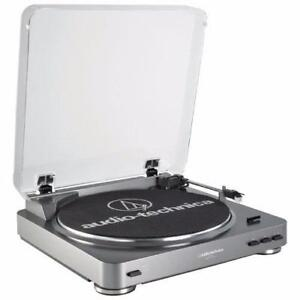Audio-Technica AT-LP60BK Fully Automatic Belt Driven Turntable - Black