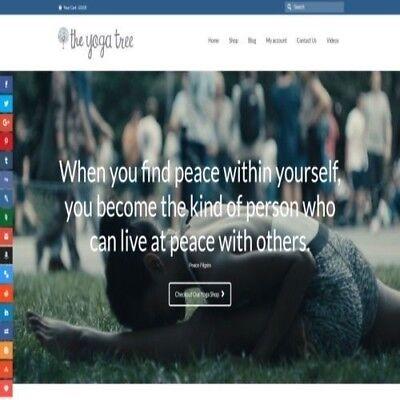 Fully Stocked Dropshipping Yoga Store Website Business. Secret Bonuses