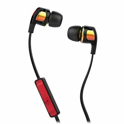 Skullcandy - Smokin' Buds 2 Wired Earbud Headphones - Black/Red/Orange